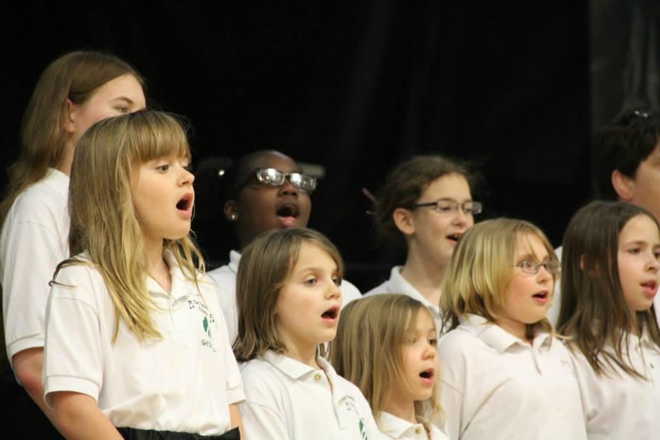 chorus singing